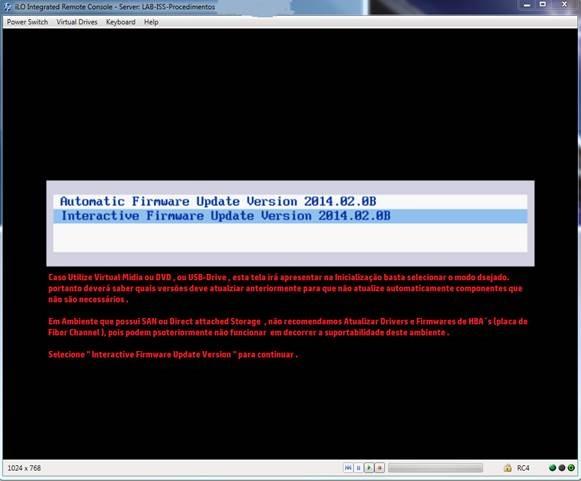 Atualizando Firmware & Drivers de Seu HP Proliant     - Comunidade