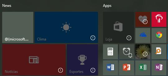 Apps Desabilitados
