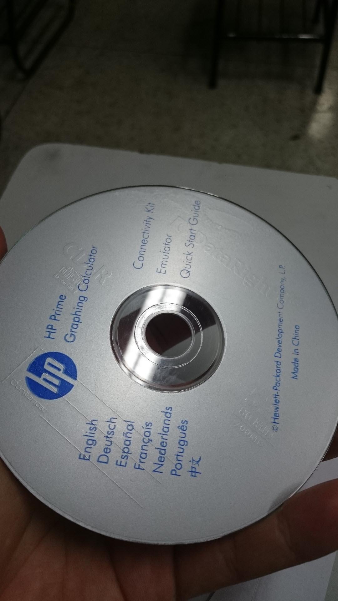 CD da calculadora