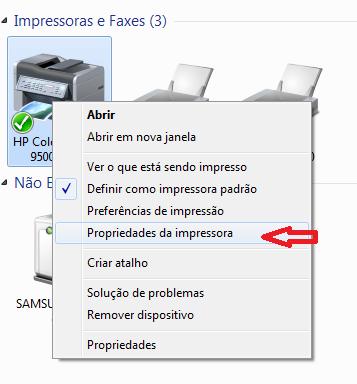0c7c671fa Não consigo encontrar o número de IP da impressora... - Comunidade ...