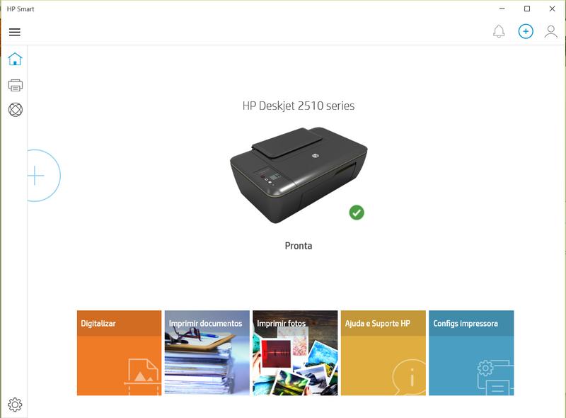 Software  da impressora - HP Smart