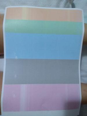 esse é o teste de qualidade de cor em sulfite