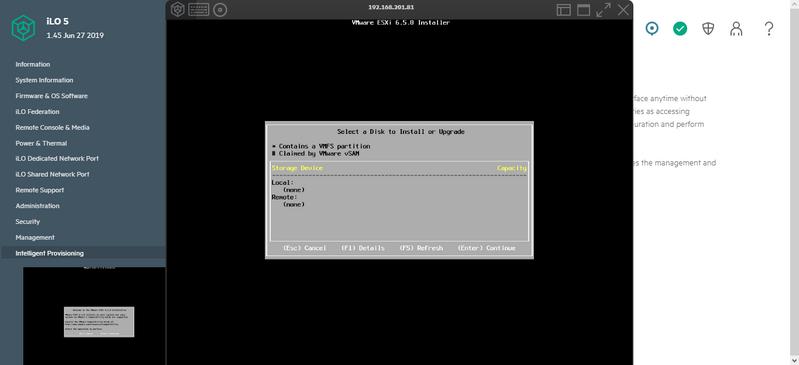 esse é instalação pelo boot normal F11 e tambem não encontra o aramazenamento