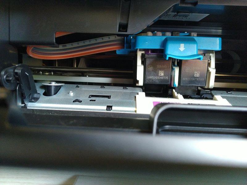 Mangueiras de tinta da impressora