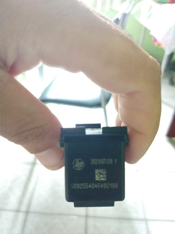 Cartucho HP 664 Preto - Validade