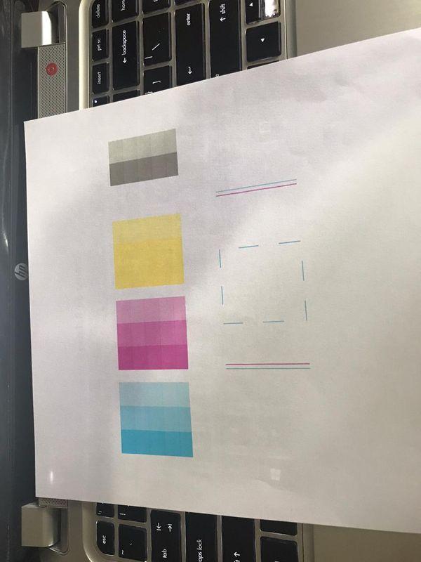 Papel comum - teste do HP Print