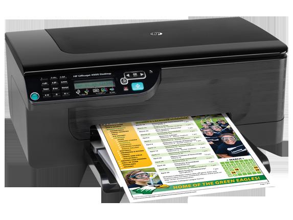 driver da impressora hp officejet 4500 desktop