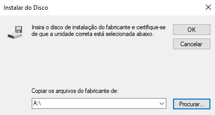 Nessa janela, clique em procurar e vá no diretório de instalação que eu comentei anteriormente. Que no meu caso é :  C:\AMD\AMD-Catalyst-15.7.1-Win10-64bit, agora entre na pasta Packages > Drivers > Display > WT6A_INF e selecione o arquivo .Inf (dentro da minha pasta só havia um arquivo, se na sua tiver mais de um, escolha o que começa com a menor numeração, por exemplo: dentro da sua pasta contém C023481.inf  C036589.inf e C015478.inf  você deve optar pelo arquivo C015478.inf) > abrir > OK > Avançar. Aí sim você terá seus drivers de vídeo instalados corretamente e, principalmente, funcionando!