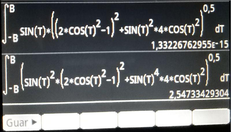 Equações 1 e  2