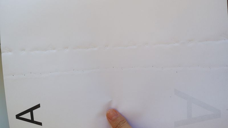 Marcas no papel