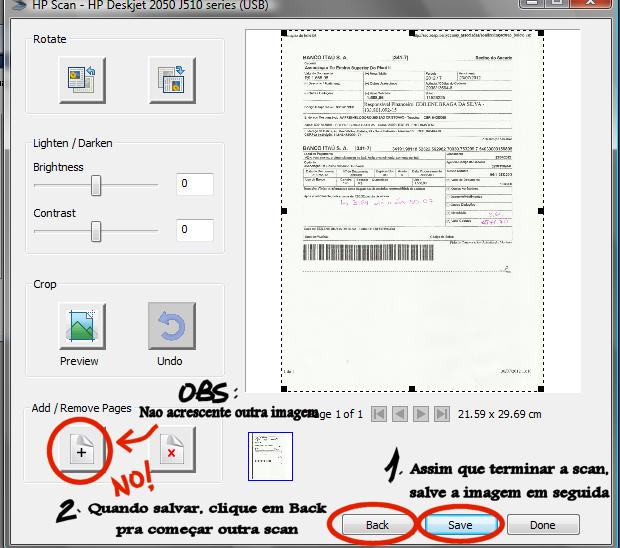 como escanear na impressora hp