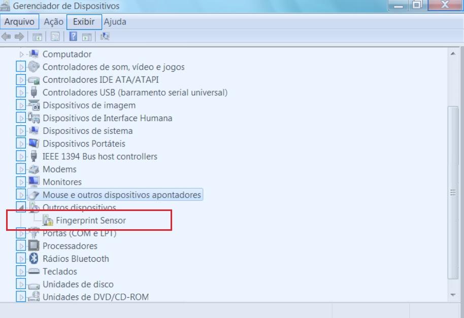 Ativar leitor biométrico - Comunidade de Suporte HP - 277934
