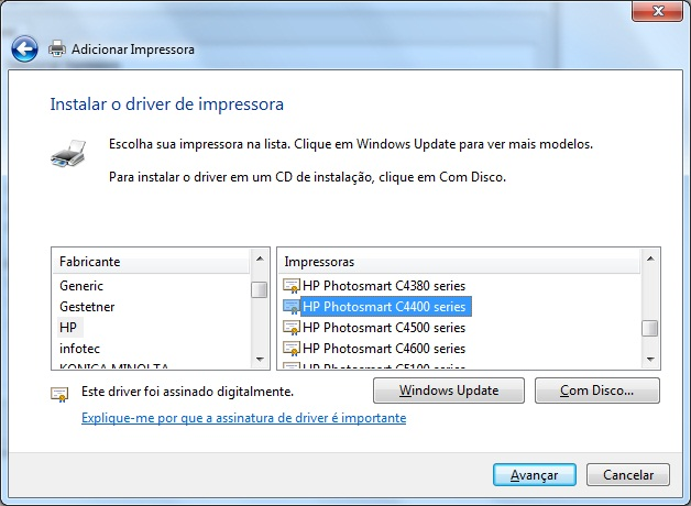 driver da impressora hp photosmart c4480 para windows 8