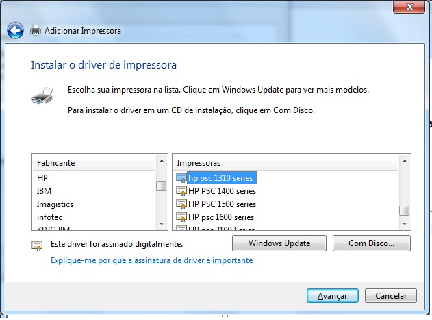 driver hp psc 1310 series